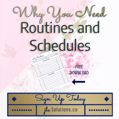 I use routines to make my life simpler & give me more time for the things that matter most. A good routine or schedule actually brings freedom & creativity.
