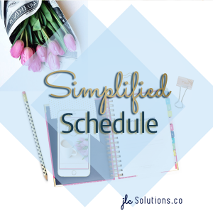 With everyone preaching hustle hard and do more, I feel like I have to constantly remind myself that more isn't always better. Do you have trouble keeping a simplified schedule too?