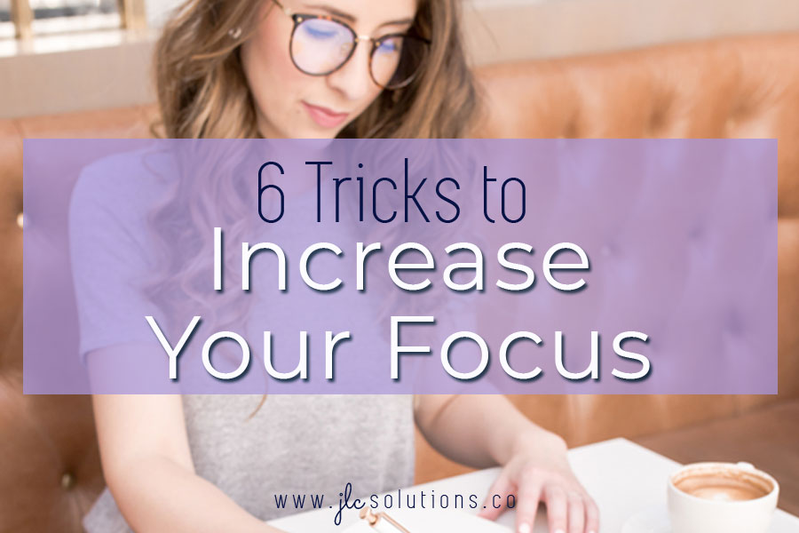 Learning strategies to eliminate distractions and focus your attention will boost your productivity and help you lower your stress and finish tasks.
