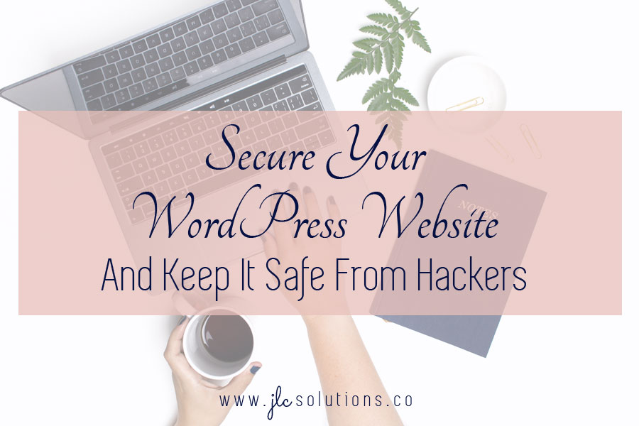 To grow your business, it's extremely important to have a stable and secure website. But it really isn't that hard. The safety and security of your site and its data is entirely up to you. Keep your software up to date, use good passwords, install a firewall, and choose a secure hosting environment, and you'll be well ahead of the curve on this.